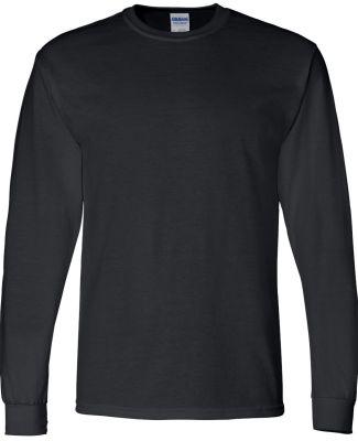 8400 Gildan 5.6 oz. Ultra Blend® 50/50 Long-Sleev BLACK