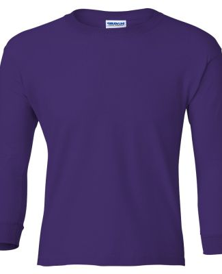 2400B  Gildan Youth 6.1 oz. Ultra Cotton® Long-Sl PURPLE