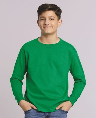 2400B  Gildan Youth 6.1 oz. Ultra Cotton® Long-Sleeve T-Shirt Catalog