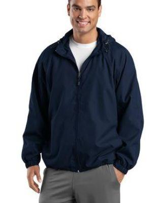 Sport Tek TJST73 Sport-Tek Tall Hooded Raglan Jacket Catalog