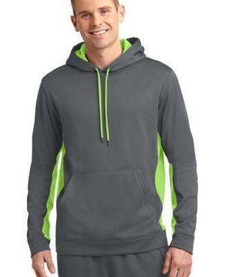 Sport Tek ST235 Sport-Tek Sport-Wick Fleece Colorblock Hooded Pullover Catalog