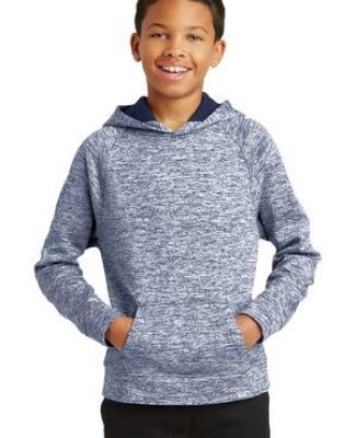 Sport Tek YST225 Sport-Tek Youth PosiCharge Electric Heather Fleece Hooded Pullover Catalog