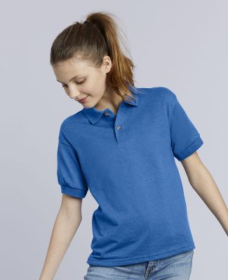 8800B Gildan Youth 5.6 oz. Ultra Blend® 50/50 Jersey Polo Catalog