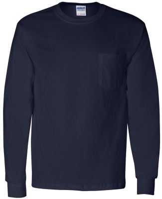 2410 Gildan 6.1 oz. Ultra Cotton® Long-Sleeve Poc NAVY