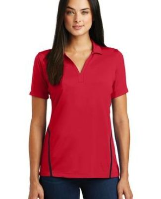 Sport Tek LST620 Sport-Tek Ladies Contrast PosiCharge Tough Polo Catalog