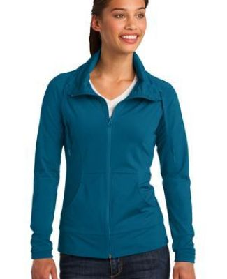 Sport Tek LST852 Sport-Tek Ladies Sport-Wick Stretch Full-Zip Jacket Catalog