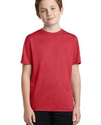 Sport Tek YST360 Sport-Tek Youth Heather Contender Tee Catalog