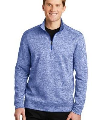Sport Tek ST226 Sport-Tek PosiCharge Electric Heather Fleece 1/4-Zip Pullover Catalog