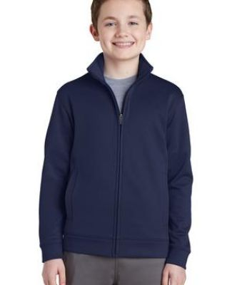 Sport Tek YST241 Sport-Tek Youth Sport-Wick Fleece Full-Zip Jacket Catalog