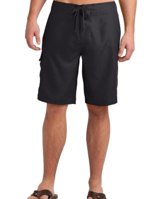 District DT1020 CLOSEOUT  Young Mens Boardshort Black