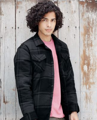 Burnside 8610 Quilted Flannel Jacket Catalog