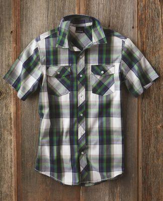 Burnside 9202 Plaid Short Sleeve Shirt Catalog
