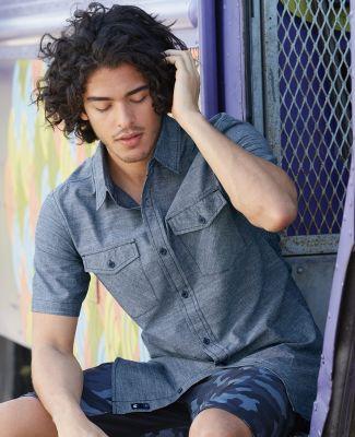 Burnside 9255 Chambray Short Sleeve Shirt Catalog