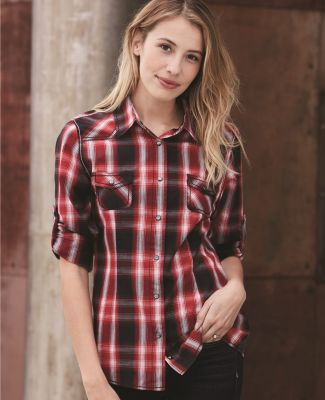 Burnside 5206 Women's Convertible Sleeve Western Shirt Catalog