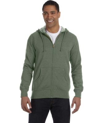 econscious EC5680 Men's 7 oz. Organic/Recycled Hea MILITARY GREEN