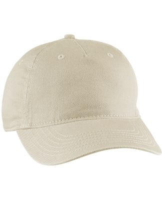 econscious EC7087 Twill 5-Panel Unstructured Hat OYSTER