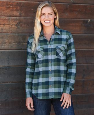 Weatherproof W164761 Vintage Women's Brushed Flannel Long Sleeve Shirt Catalog