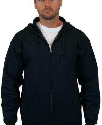G126 Gildan 9.3 oz. Ultra Blend® 50/50 Full-Zip H BLACK