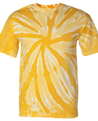 Dyenomite 200TT Tone-on-Tone Pinwheel Short Sleeve Gold