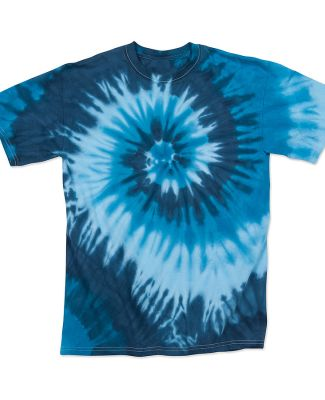 Dyenomite 20BTI Youth Tide Tie Dye T-Shirt Blue Tide