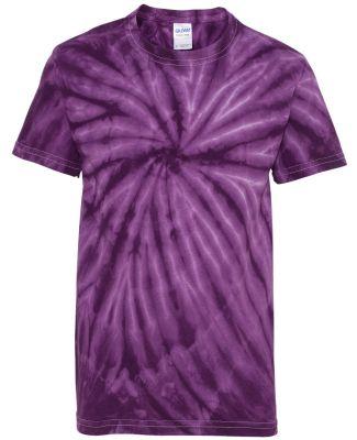 Dyenomite 20BCY Youth Cyclone Vat-Dyed Pinwheel Sh Purple