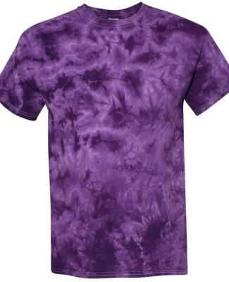 Dyenomite 200CR Crystal Tie Dyed T-Shirts Purple