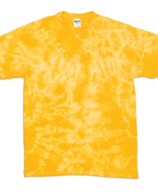 Dyenomite 200CR Crystal Tie Dyed T-Shirts Gold