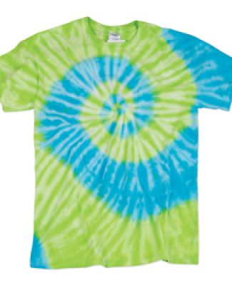 Dyenomite 20BTY Youth Typhoon Tie-Dye Shirt Bora Bora