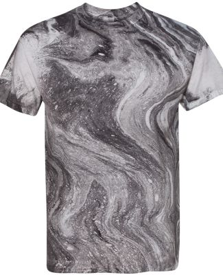 Dyenomite 200MR Marble Tie-Dye T-Shirt Black