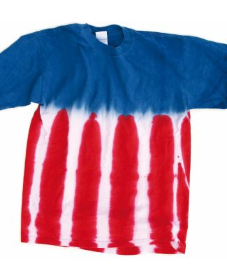 Dyenomite 200US Flag Tie Dye T-Shirt Royal