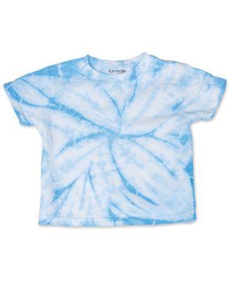Dyenomite 20TCY Cyclone Tie Dye Toddler T-Shirt Columbia