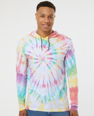 Dyenomite 430VR Tie-Dyed Hooded Pullover T-Shirt Catalog