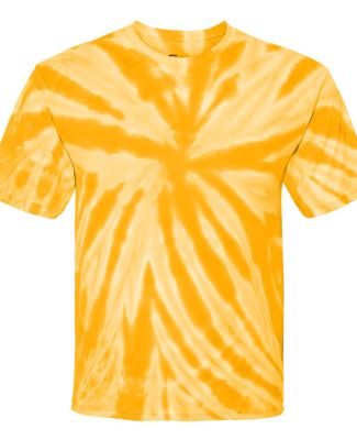 Dyenomite 600TT Tie-Dye Performance T-Shirt Gold