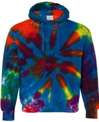 Dyenomite 854TD Rainbow Multi-Color Cut-Spiral Hoo Champ