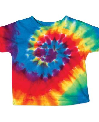 Dyenomite 20TMS Toddler Spiral Tie Dye T-Shirt Catalog