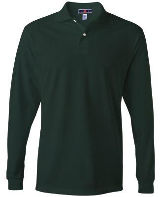 Jerzees 437MLR SpotShield Long Sleeve Jersey Sport Forest Green