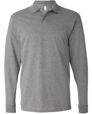 Jerzees 437MLR SpotShield Long Sleeve Jersey Sport Oxford