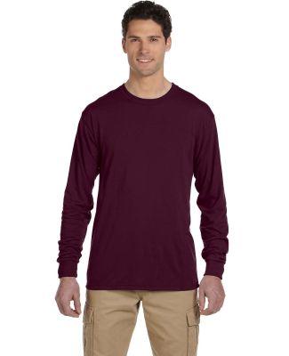 Jerzees 21MLR Dri-Power Sport Long Sleeve T-Shirt Maroon