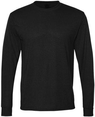 Jerzees 21MLR Dri-Power Sport Long Sleeve T-Shirt Black