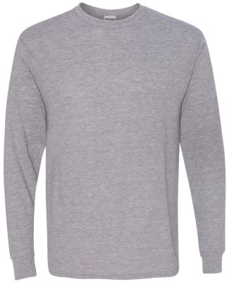 Jerzees 21MLR Dri-Power Sport Long Sleeve T-Shirt Athletic Heather