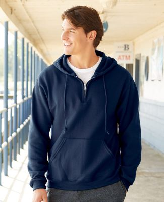 Jerzees 994MR NuBlend Quarter-Zip Hooded Sweatshirt Catalog