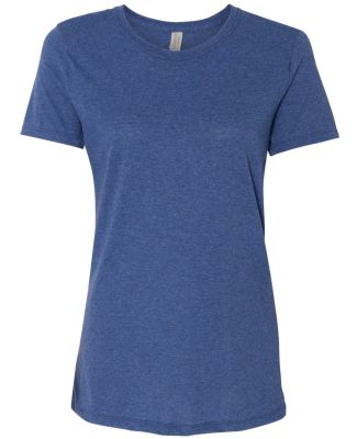 Jerzees 601WR Dri-Power Active Women's Triblend T- True Blue Heather