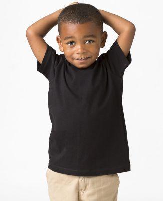 Los Angeles Apparel 21005 / Kids Fine Jersey Short Black