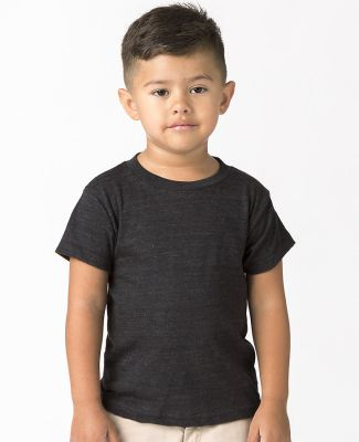 Los Angeles Apparel TR1001 / Kids Tri-Blend Tee Tri Black