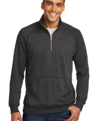 236 DM392 District Made Mens Lightweight Fleece 1/4-Zip Catalog