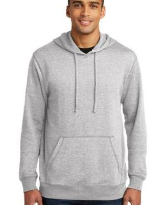 DM391 District Made Mens Lightweight Fleece Hoodie Catalog
