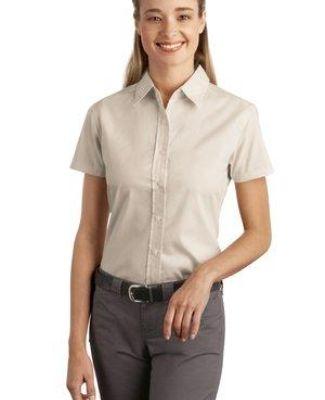 242 L507 CLOSEOUT Port Authority Ladies Short Sleeve Easy Care  Soil Resistant Shirt Catalog