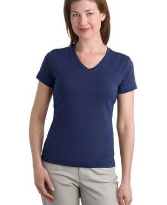 242 L516V NEW Port Authority® - Ladies Modern Stretch Cotton V-Neck Shirt Catalog
