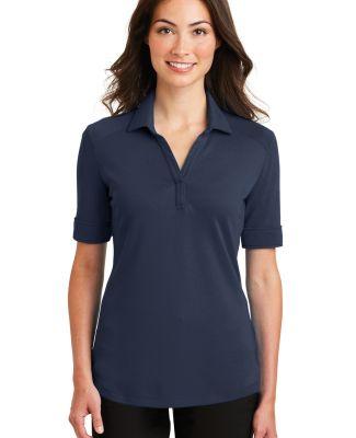 242 L5200 Port Authority Ladies Silk Touch Interlo Navy