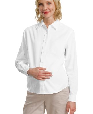 242 L608M CLOSEOUT Port Authority Maternity Long S White
